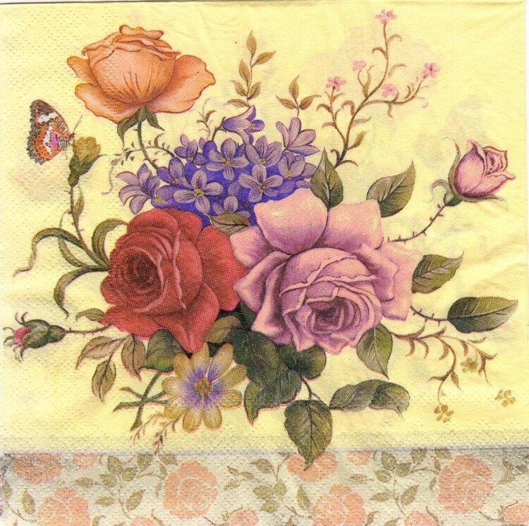 Цветы в стиле ретро купить украина, цветы